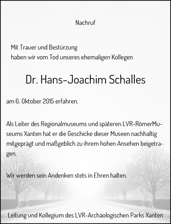 Zur Gedenkseite von Hans-Joachim