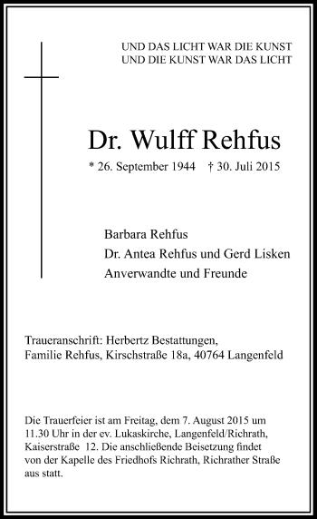 Zur Gedenkseite von Wulff