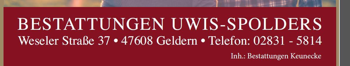 Bestattungen Uwis-Spolders
